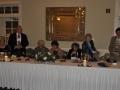 Mary O'Rourke, Elliott Levy-Vice President Ted Rosengarten, Dale Rosengarten, Irene K. Rudnick-President, Doris Baumgarten-90th Anniversary CoChairwoman, Ernest Levinson