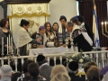 The Wolf Family Great Grandchildren Having Been Called to the Torah for an Alyah (Blessing Over the Torah)