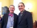 Cousins David Draisen - President Ed Poliakoff - Past President