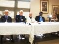 Jack Bass, Dan Carter, Rabbi Robert Seigel, Bill Saunders, Patricia A Sullivan