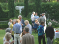 Friday Reception at the home of Albert and Robyn Mercer