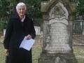 Rhetta at Cemetery