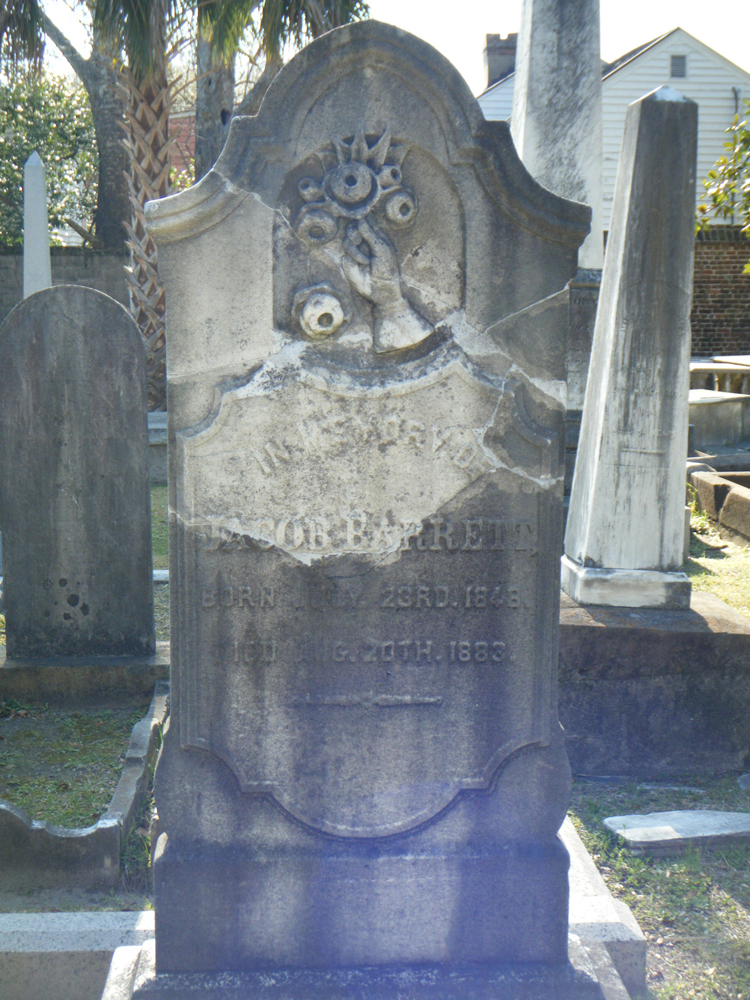 Kahal Kadosh Beth Elohim (KKBE) Coming Street Cemetery   Jewish